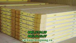 Panel xốp eps An TâmPanel PU giá rẻ sản phẩm panel chất lượng lớp PU dày 50mm - 200mm